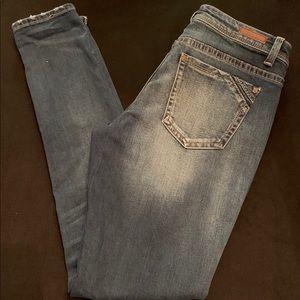 Buckle Black Skinnies 28x32 EUC worn once